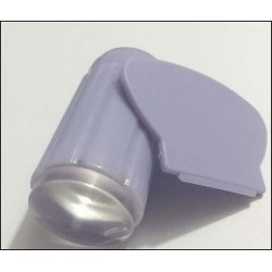Clear Jelly Stamper - Scraper - Tampon transparent